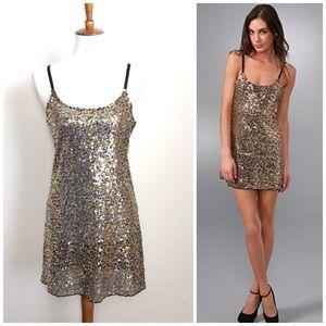 Intimately FREE PEOPLE Confetti Sequin Slip Dress!